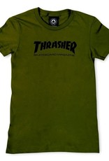 Thrasher Mag. Skate Mag Women's Green Tee