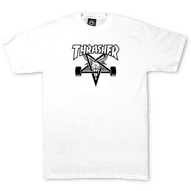 Thrasher Mag. Sk8Goat White Tee