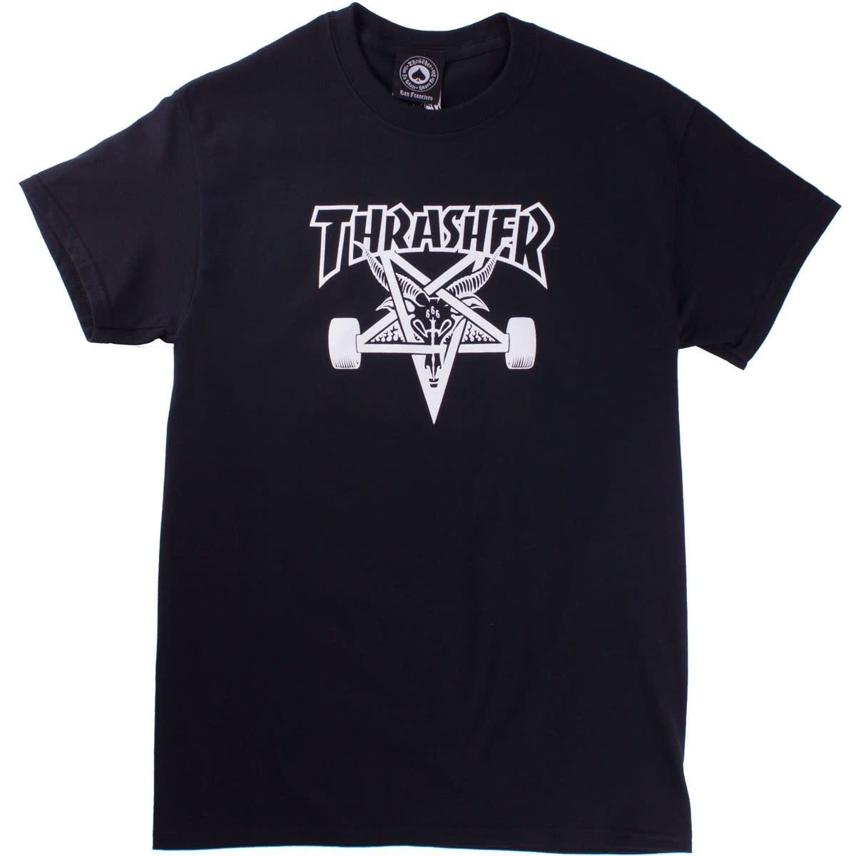Thrasher Mag. Sk8Goat Black Tee