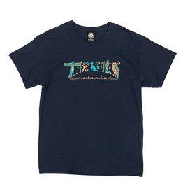 Thrasher Mag. Hieroglyphics Navy Tee