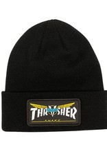 Thrasher Mag. Thrasher Venture Collab Black Beanie