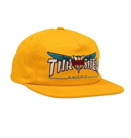 Thrasher Mag. Thrasher Venture Collab Gold Snapback