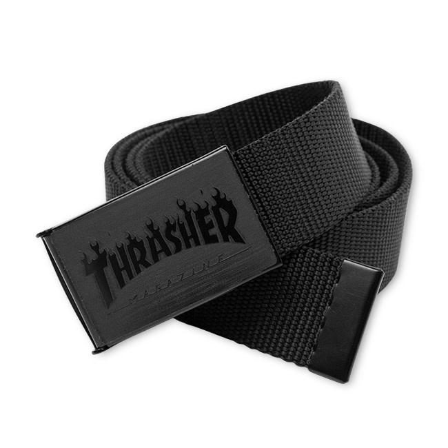Thrasher Mag. Thrasher Flame Web Belt