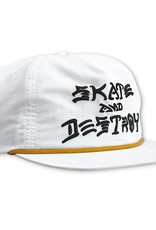 Thrasher Mag. S&D Puff Ink Snapback White