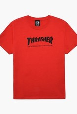 Thrasher Mag. Youth Skate Mag Tee Red