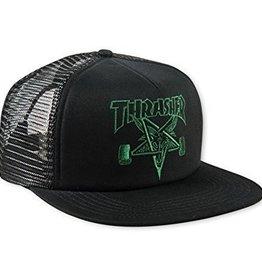 Thrasher Mag. Sk8 Goat Trucker Black/Green