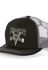 Thrasher Mag. Sk8 Goat Trucker Black/Grey