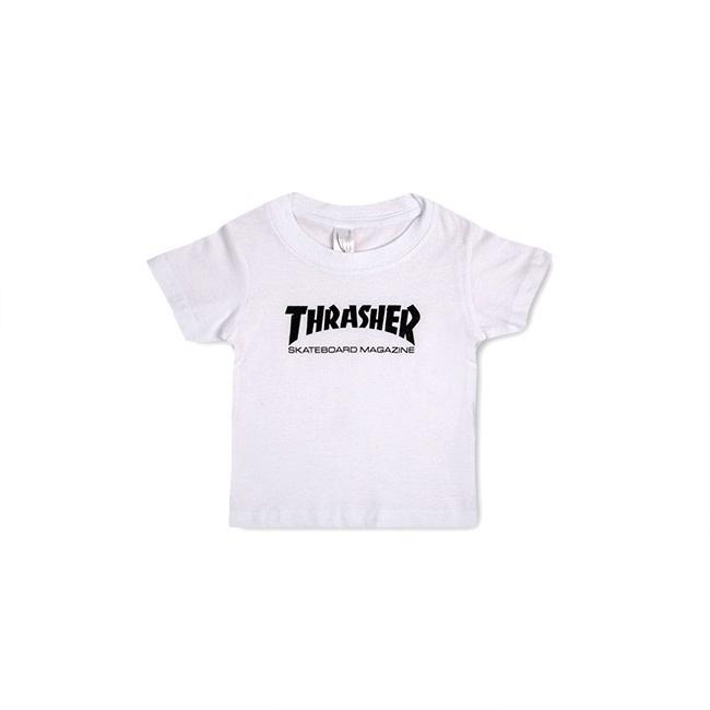 Thrasher Mag. Skate Mag Infant White