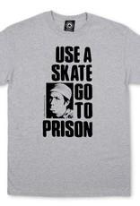 Thrasher Mag. Use A Skate Grey Tee
