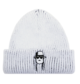 Fucking Awesome Spike White Beanie