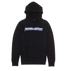 Fucking Awesome Chrome Hoodie Black