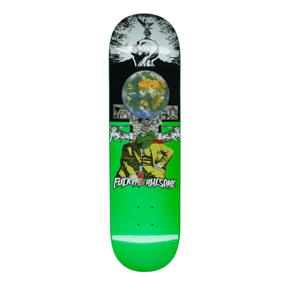 """Fucking Awesome Frogman Dipped Green 8.0"""""""