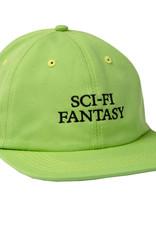 Sci-Fi Fantasy Logo Hat Lime