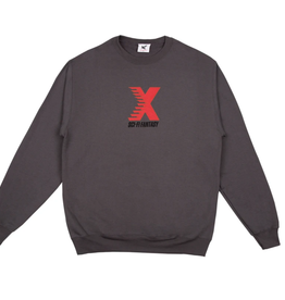 Sci-Fi Fantasy X Crewneck Charcoal Heather