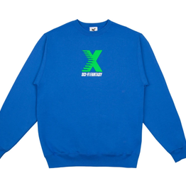 Sci-Fi Fantasy X Crewneck Royal