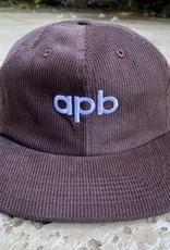 APB Skateshop APB Logo 6-Panel Brown Corduroy