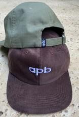 APB Skateshop APB Logo 6-Panel Olive Ripstop