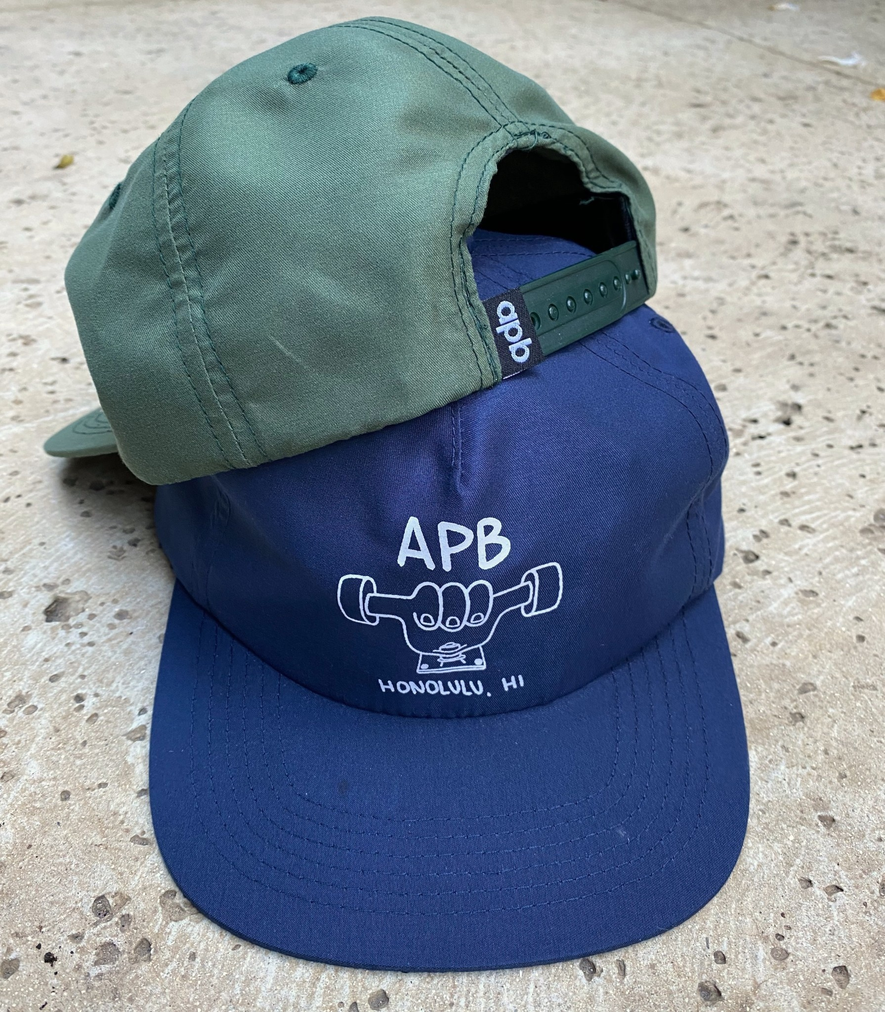 APB Skateshop APB Truckah Hat Dark Green