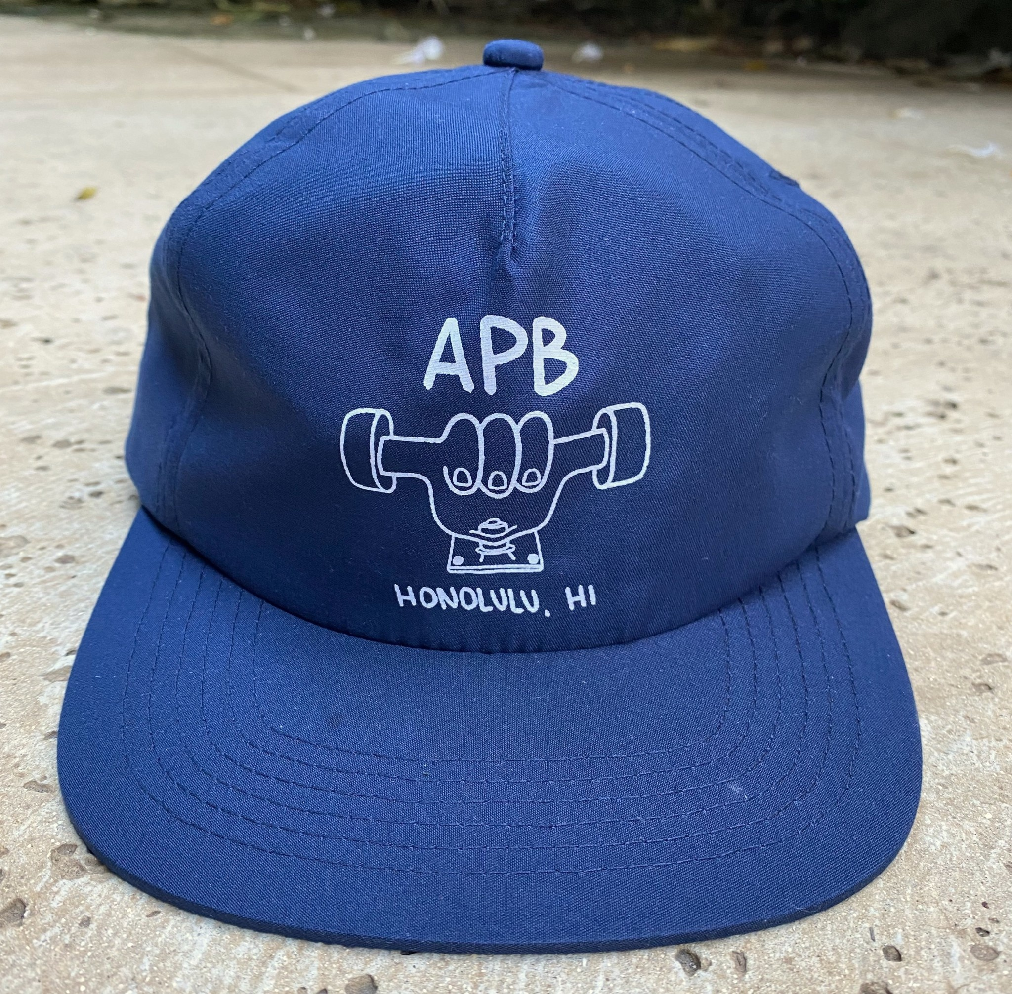 APB Skateshop APB Truckah Hat Navy