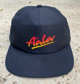 APB Skateshop APB A'alva Nylon Snapback Black