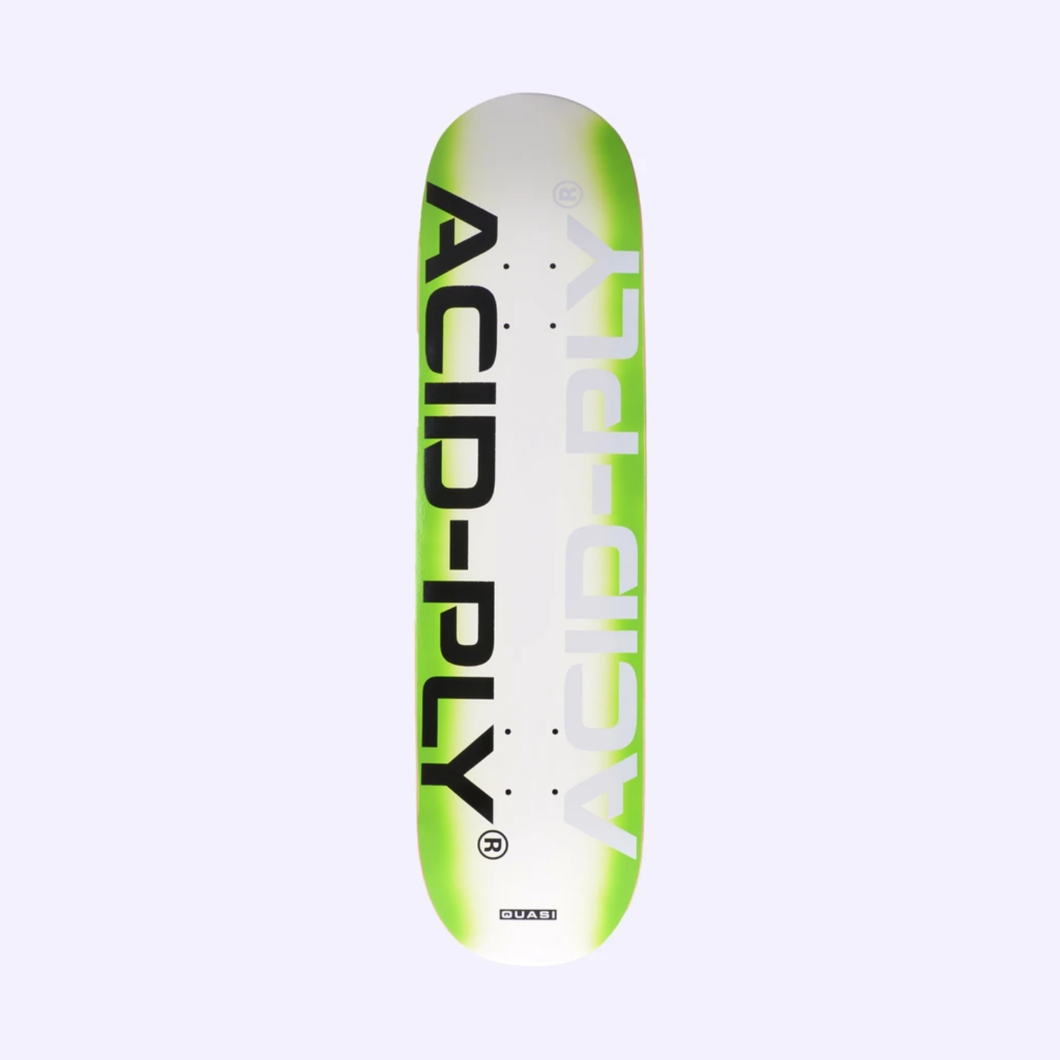 "Quasi Skateboards Tech Green 8.125"""