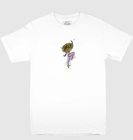 Pass~Port Floral Dancer White Tee