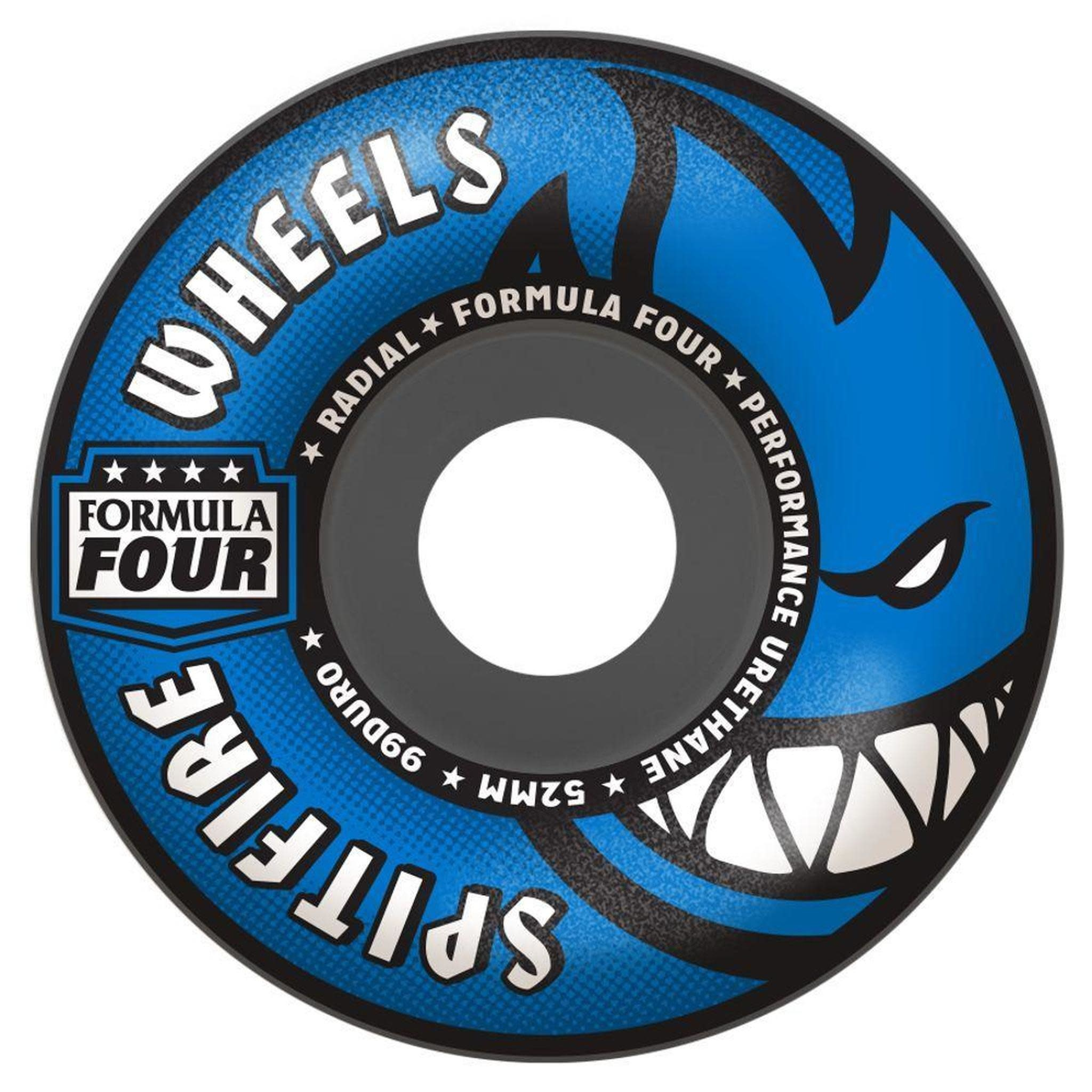 Spitfire Wheels Spitfire F4 99d Radial Grey Blue 56mm