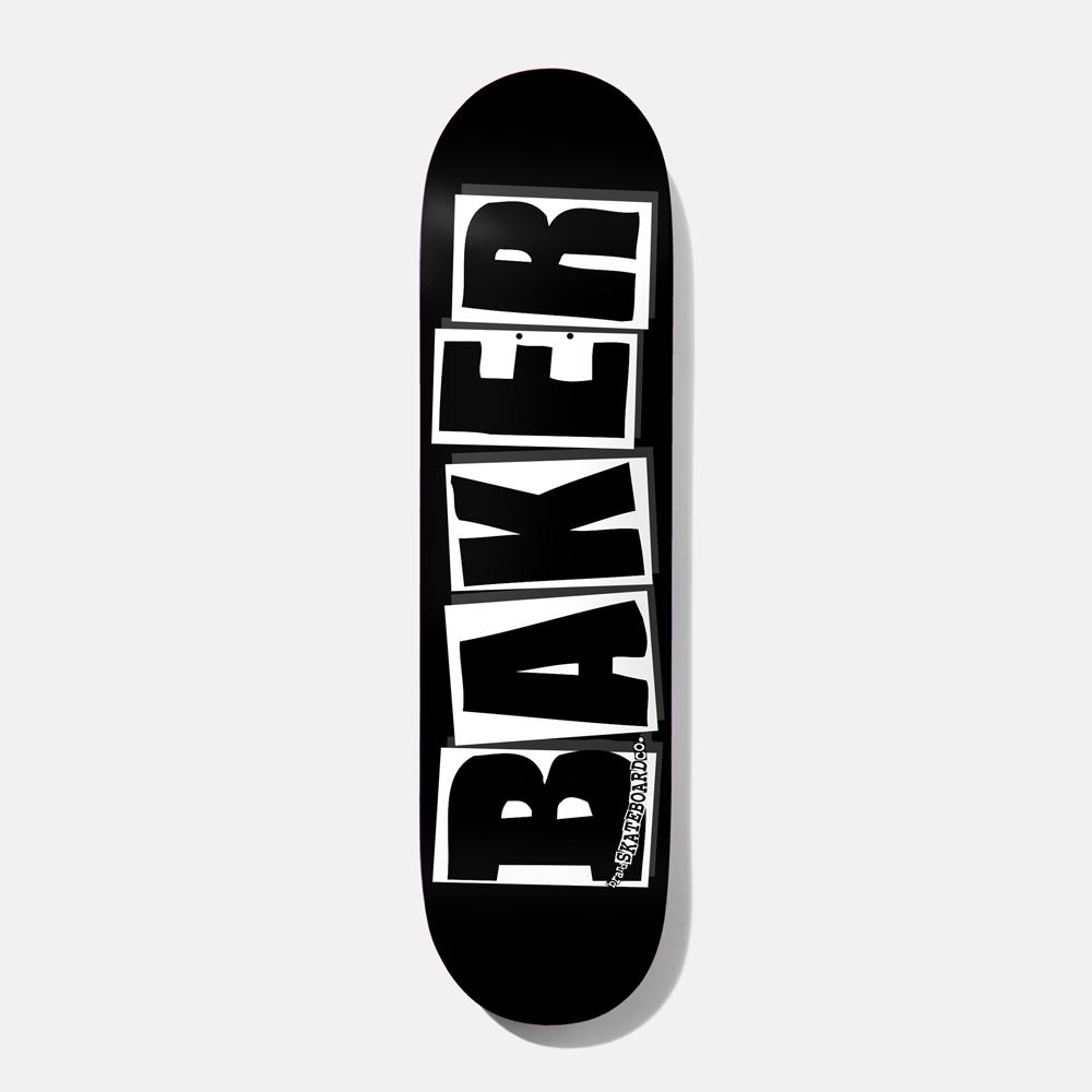 """Baker Skateboards Brand Logo Black/White 8.125"""""""