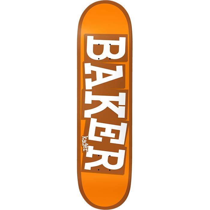 """Baker Skateboards KS Ribbon Name Orange 8.125"""""""