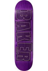 """Baker Skateboards RH Brand Name Stroke Purple 8.25"""""""