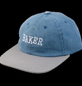 Baker Skateboards Ribbon Denim/Grey Snapback