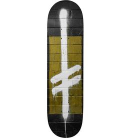 "Deathwish Skateboards Power Logo Black/Gold 8.75"""