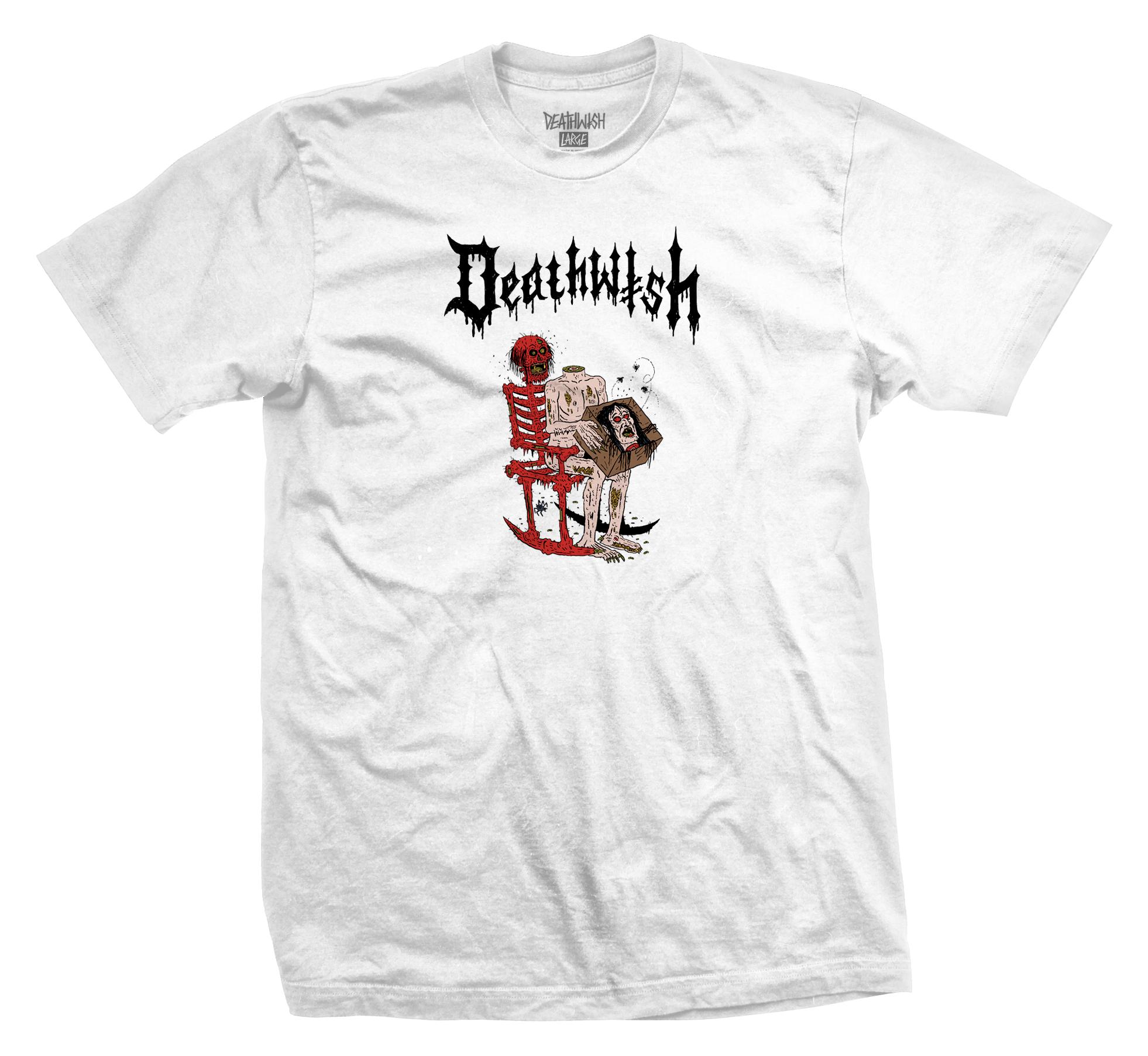 Deathwish Skateboards Death Wichz White Tee