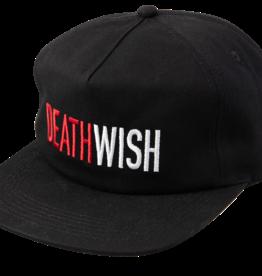 Deathwish Skateboards Five-O Black Snapback