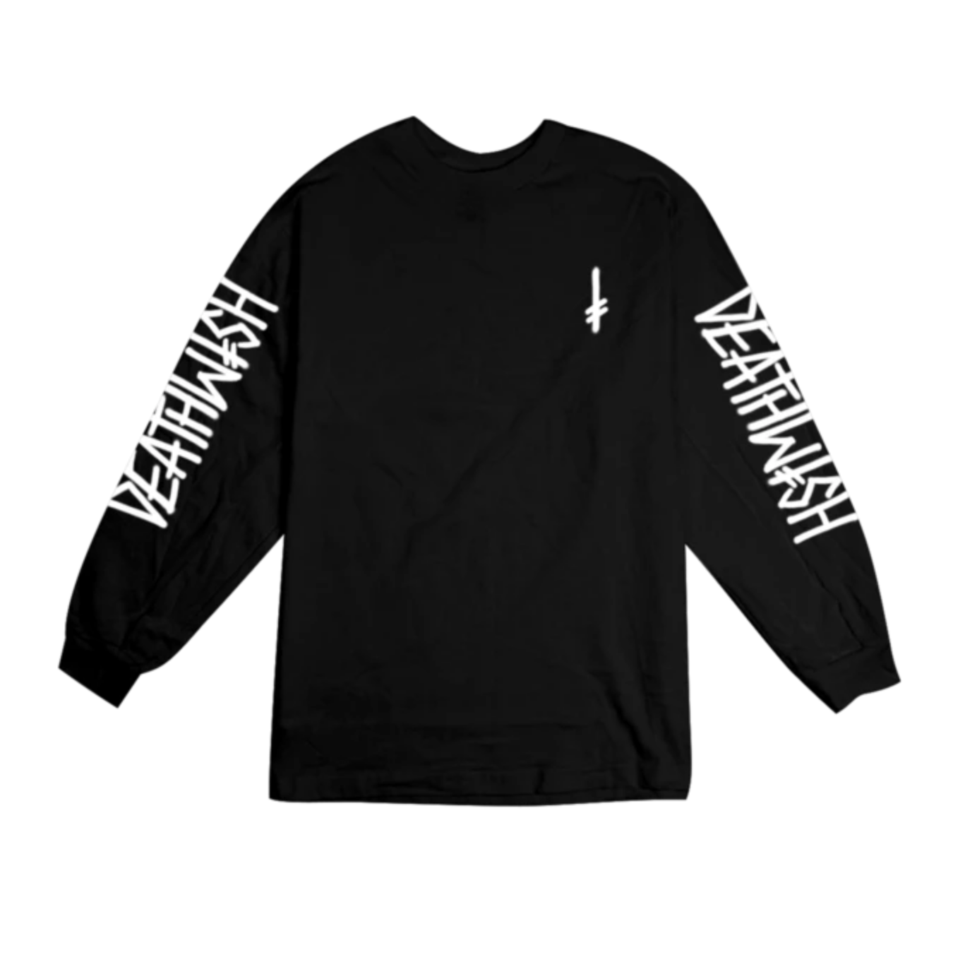 Deathwish Skateboards Landmark Black L/S Tee
