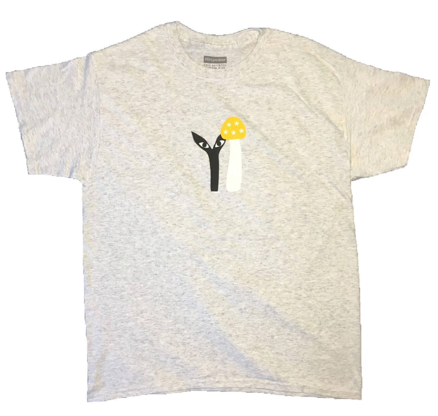 Stingwater Groe Together Yellow Cap Grey Tee