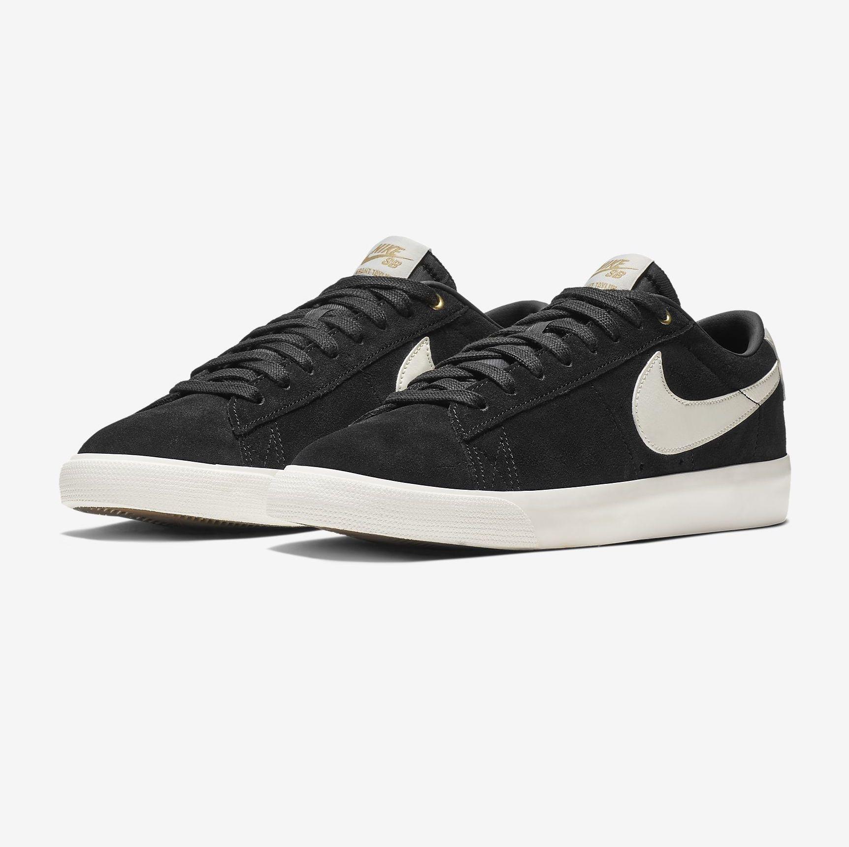 Nike USA, Inc. Nike SB Zoom Blazer Low GT Black/Sail