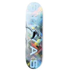 "Primitive Silvas Silver Surfer 8.38"""