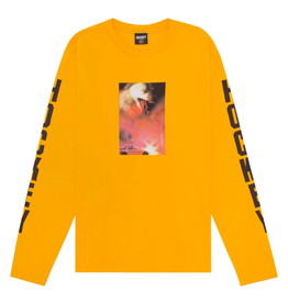 Hockey Corvette L/S Bright Gold Tee