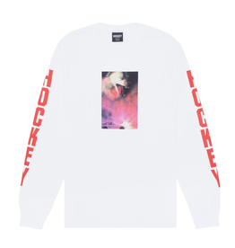 Hockey Corvette L/S White Tee