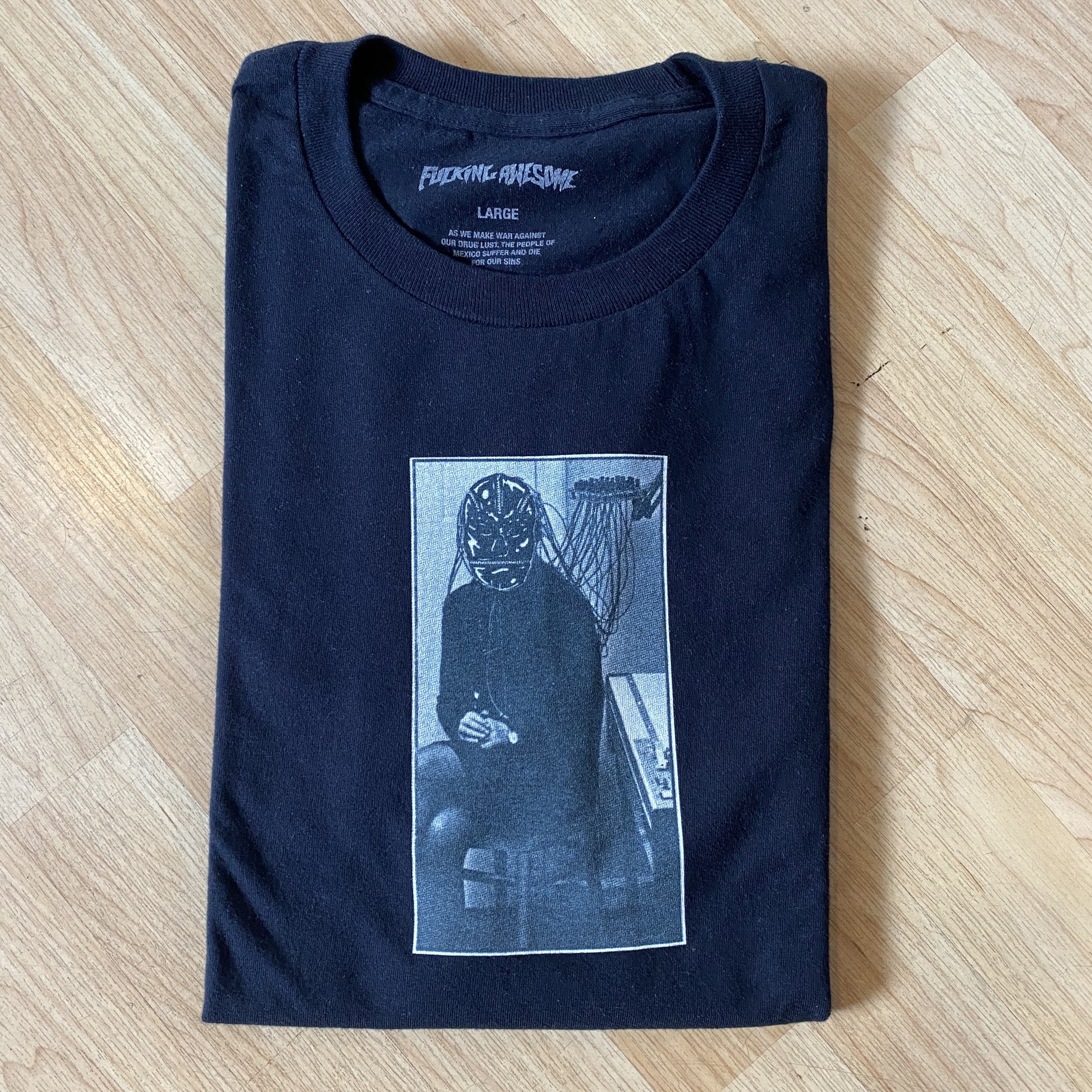 Fucking Awesome Personality Tee Black Size L