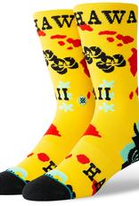 Stance Socks Hawaii Chain Oblow Yellow Sock L