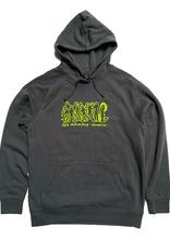 APB Skateshop APB Gonz Gang Hoodie Coal w/ Lime