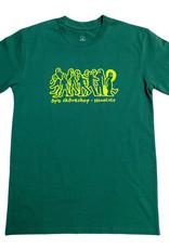 APB Skateshop APB Gonz Gang Tee Emerald w/ Lime