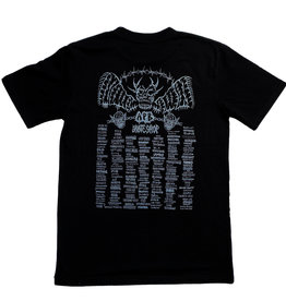 APB Skateshop APB Lotties Shop Tour Pocket Tee Black w/ Grey