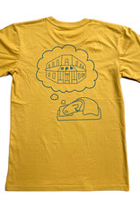 APB Skateshop APB Dream Tee Mustard w/ Green