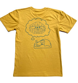 APB Skateshop APB Dream Tee Mustard w/ Green