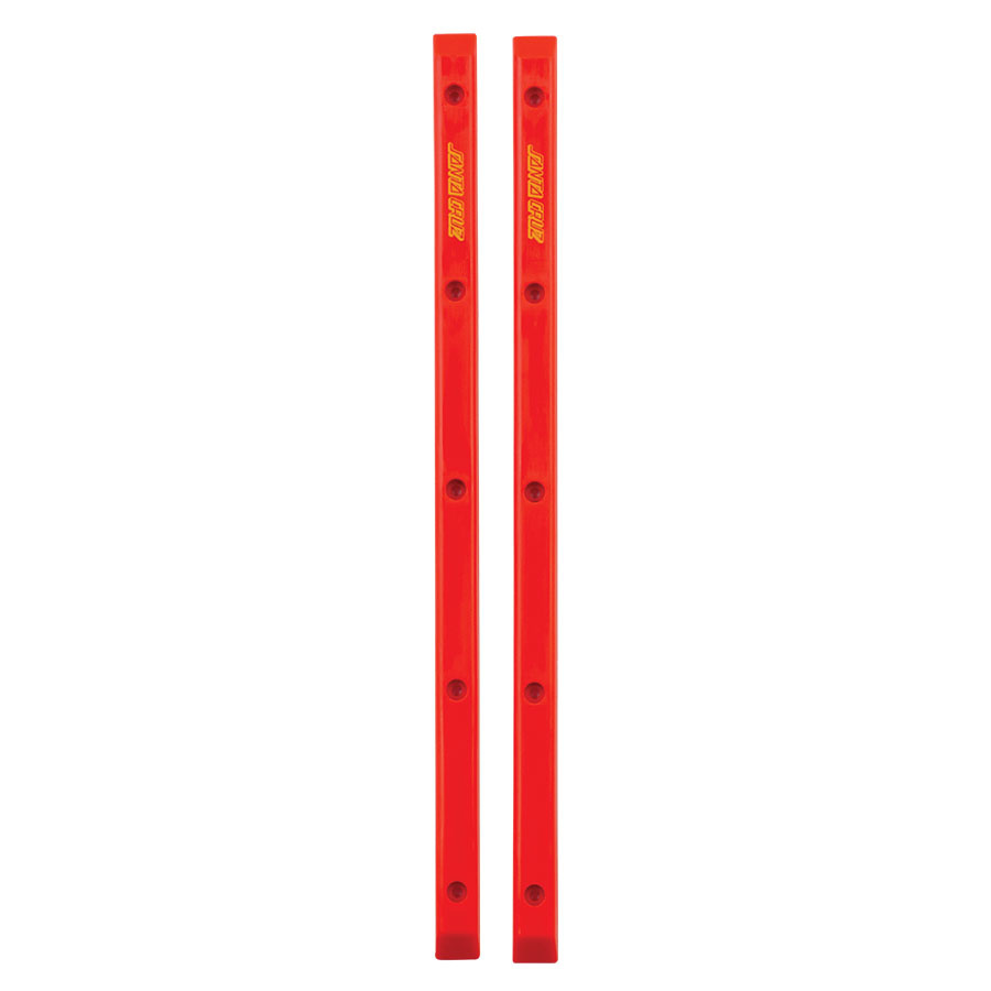 Santa Cruz Skateboards Slimeline Rails Red