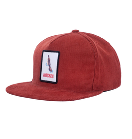 Hockey Shotgun 5-Panel Brown Cap