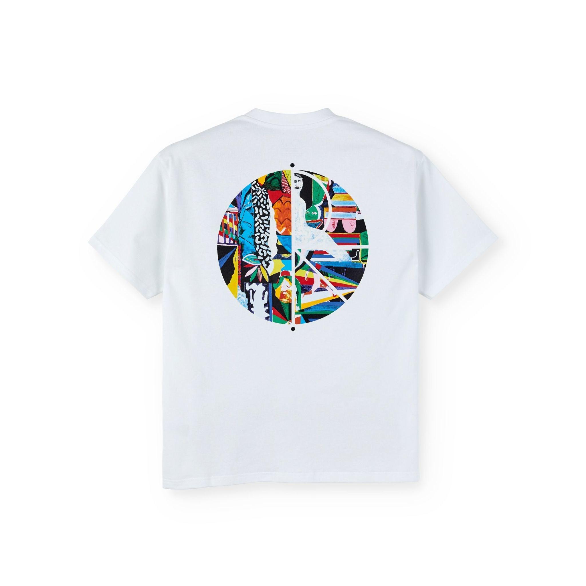 Polar Skate Co. Memory Palace Fill Logo White